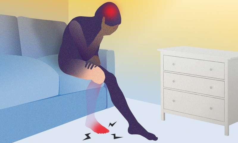 Fantoompijn brein chronische pijn